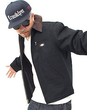 人気海外ブランド「ディッキーズ」のジャケットです。